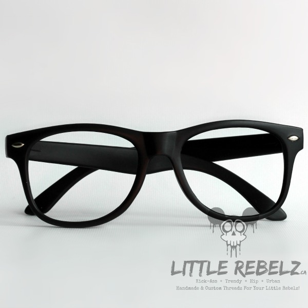 ac6ce116c33 Baby   Children s Black Nerd Glasses