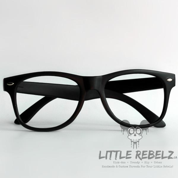 ac6ce116c33 Baby   Children s Black Nerd Glasses