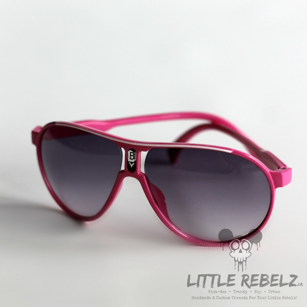 67a53c66a1 Baby   Children s Pink Aviator Sunglasses